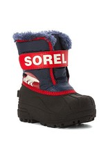 Sorel Children's Snow Commander Boot Nocturnal, Sail Red