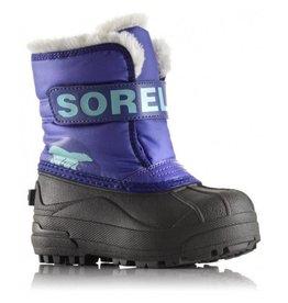 Sorel Children's Snow Commander Boot Purple Lotus