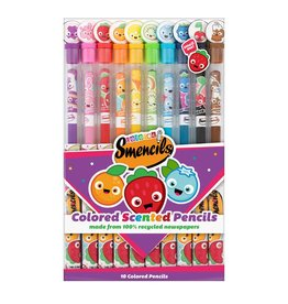 Smencils Coloured Scented Pencils 10-pack
