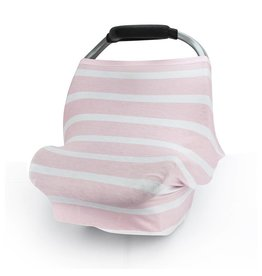 Pink Stripes Stretch Cover