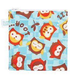Bumkins Reusable Snack Bag Large Owls