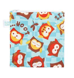 Bumkins Reusable Snack Bag Large Owls