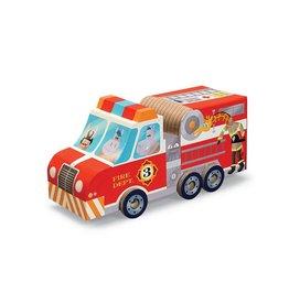 Crocodile Creek Fire Truck Puzzle & Play