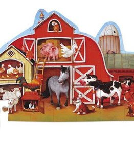 Barnyard Shaped Puzzle