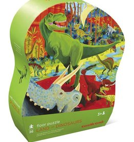 Land of Dinosaurs Shaped Puzzle