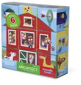Little Architect Barn Jumbo Block Puzzle