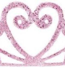 Great Pretenders Pink Glitter Tiara