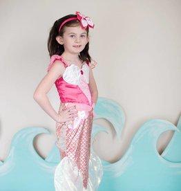 Great Pretenders Pink Mermaid Dress with Headpiece 5/6