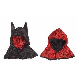 Great Pretenders Reversible Spider/ Bat Hood, Black