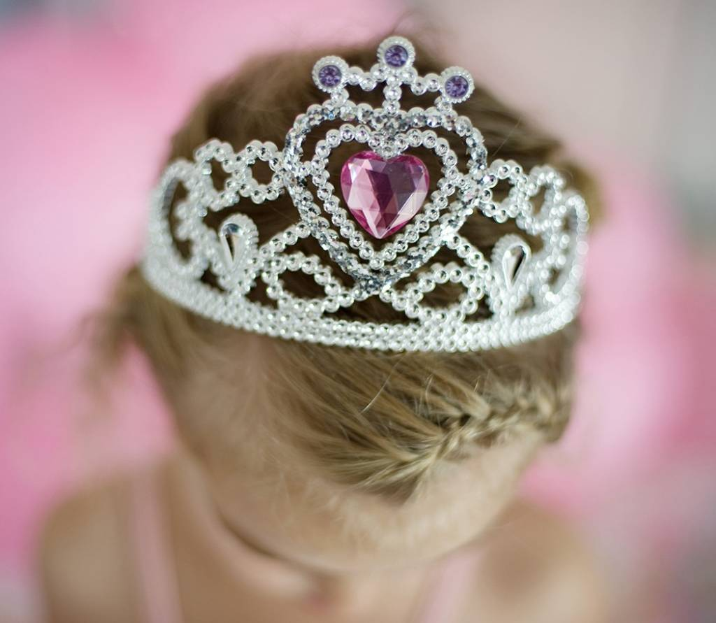 Crib Mattress Liner Great Pretenders Glitter Heart Tiara/Wand Silver - Grow ...