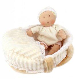 Bonikka Carry Cot Baby, Bottle & Blanket