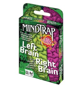 Outset Media MindTrap Left Brain Right Brain