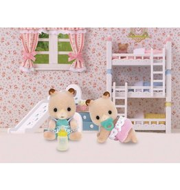 Calico Critters Fluffy Hamster Twins