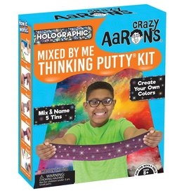 Crazy Aaron's Thinking Putty Mixed by Me Thinking Putty Kit Holographic