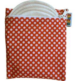 Breast Pad Travel Pack Retro Dot Organic