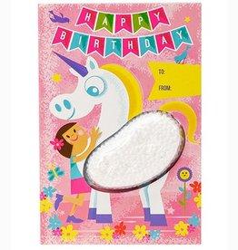 Playfoam Unicorn Card