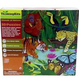 4M Think Kits 3D Puzzle Rainforest