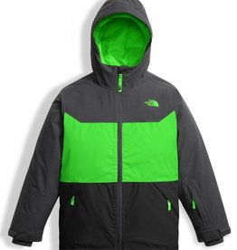The North Face Boys Brayden Insulated Jacked Krypton Green