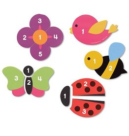 Educational Insights Magnetic Counting Garden Puzzles