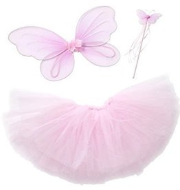 Great Pretenders Baby Tutu/Wing Set light pink