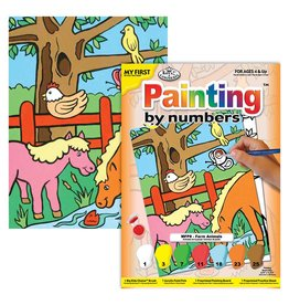 Paint by numbers Farm Animals