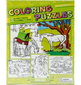 Create Your Own Puzzle Colouring Puzzles Horses