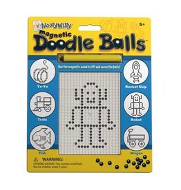 Outset Media Wooly Willy Magnetic Doodle Balls