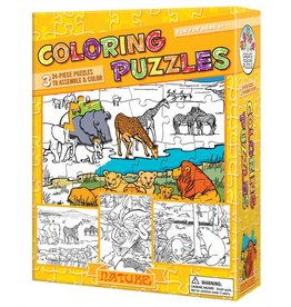 Coloring Puzzles Nature