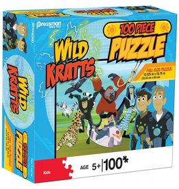 Wild Kratts 100 pc puzzle