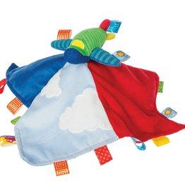 Mary Meyer Taggies Wheelies Airplane Blanket