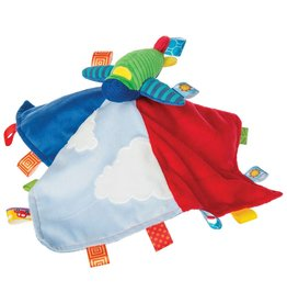 Mary Meyer Taggies Wheelies Airplane Blanket