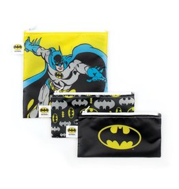 Bumkins DC Comics Small Snack Bags 3 pack Batman