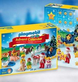 """Playmobil 1.2.3 Advent Calendar """"Christmas on the Farm"""""""