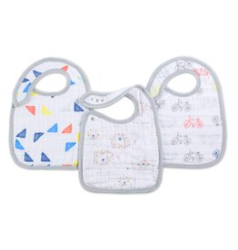 aden + anais Snap Bibs Leader of the pack 3 pack