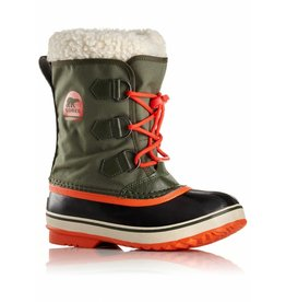 Sorel Children's Yoot Pac Nylon Surplus Green