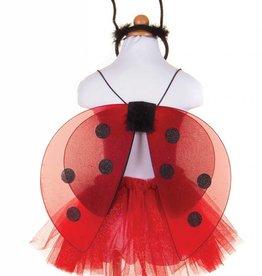 Great Pretenders Glitter Lady Bug Set