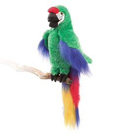 Folkmanis Great Green Macaw Puppet