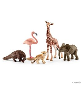 Schleich Assorted Wild Life animals