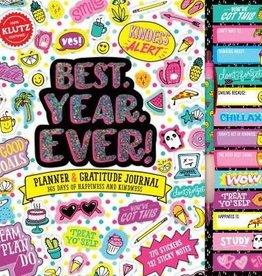 Klutz BEST. YEAR.EVER! Planner & Gratitude Journal