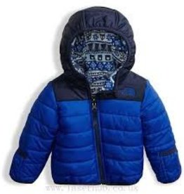 The North Face Infant Reversible Perrito Jacket Bright Cobalt Blue