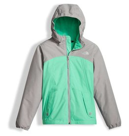 The North Face Girls' Warm Storm Jacket Bermuda Green