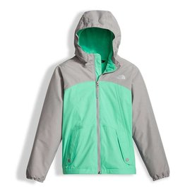 The North Face Girls' Warm Storm Jacket Bermuda Green