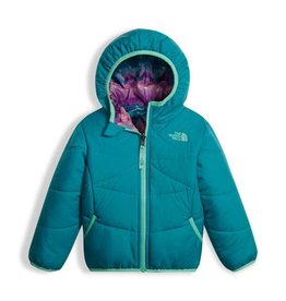 The North Face Toddler Girls Reversible Perrito Jacket Algiers Blue