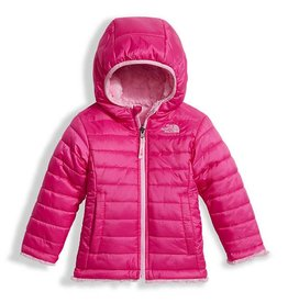 The North Face Toddler Girls Reversible Mossbud Swirl Jacket Petticoat Pink