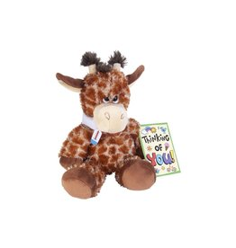 Wild Republic Giraffe Sore Throat Stuffed Animal - 10""