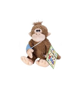Wild Republic Broken Arm Monkey Stuffed Animal - 10""