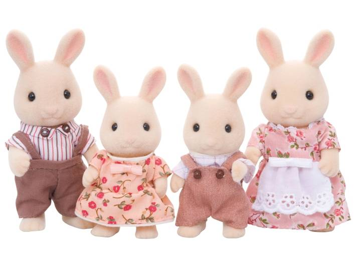 Calico Critters Sweetpea Rabbit Family Grow Children S