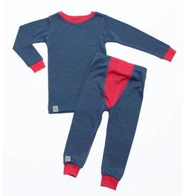 Wee Woolies Merino Pyjamas/Base Layer Set