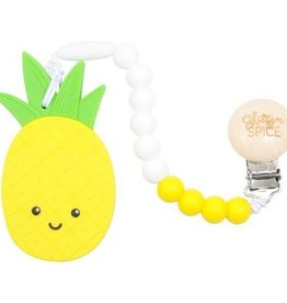 Glitter & Spice Pineapple Teether