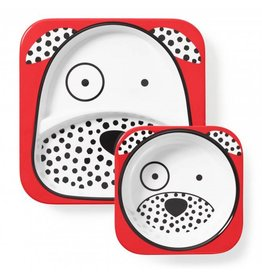 Skip Hop Zoo Plate & Bowl Set